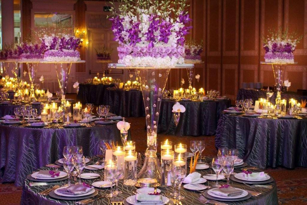 Elegant touches planned by The Party Link made this wedding a night to remember.