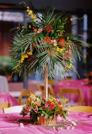 Tropical themed event