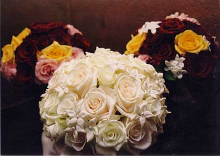 Exquisite bridal bouquet